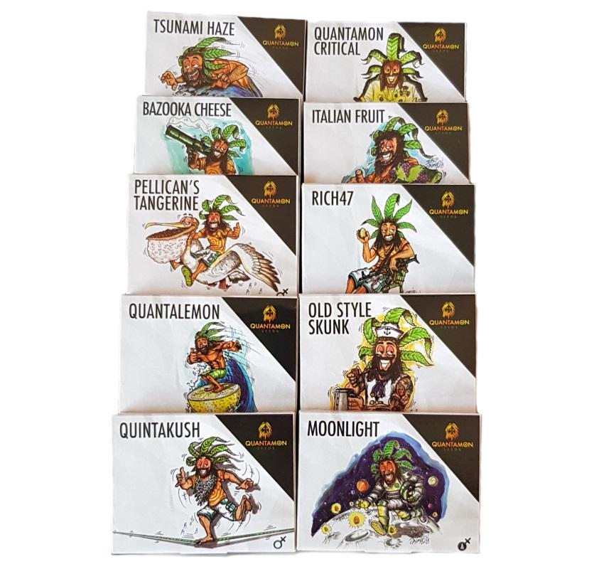 Collezione completa - Seconda Edizione Quantamon Seeds